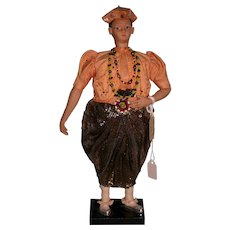Chief Kandy of Ceylon Museum quality figure