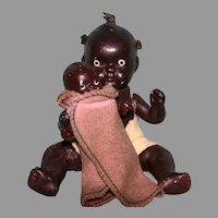 Black bisque Japan babies