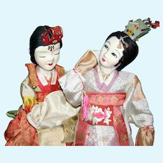 Korean Lady dolls