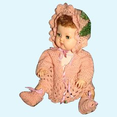 "15-18"" Ideal, Effanbee, or Compo doll sweater set"