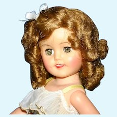 1959 Shirley Temple ST-15 Ideal  Vinyl Doll
