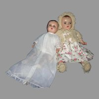 Composition Horsman baby dolls