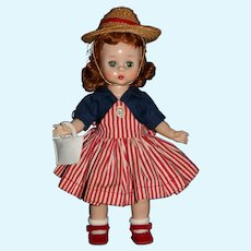 "Vintage Madame Alexander-Kin 1956 #553 ""Wendy Carries Her Milk Money""  SLW"