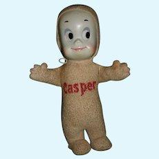 VTG '61 Mattel Casper the Friendly Ghost Doll Harvey Product