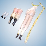 3 pairs of legs for Chinas or Papier Mache
