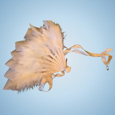 Feather Fan for your Favorite Doll