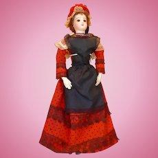 Authentic Antique FF Provincial Costume