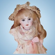 REVISED  17 Inch Antique French Jumeau Bebe