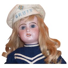 "Antique 19 inch Jumeau ""1907"" Open Mouth Doll"