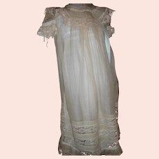 Antique  Victorian Girls Silk Dress