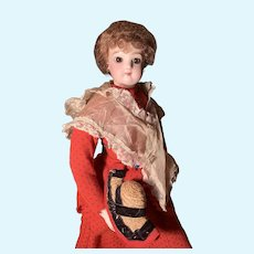 17 inch Jumeau Bisque Doll.  * ON SALE *