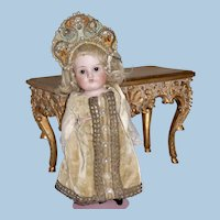 7 inch German bisque dolly