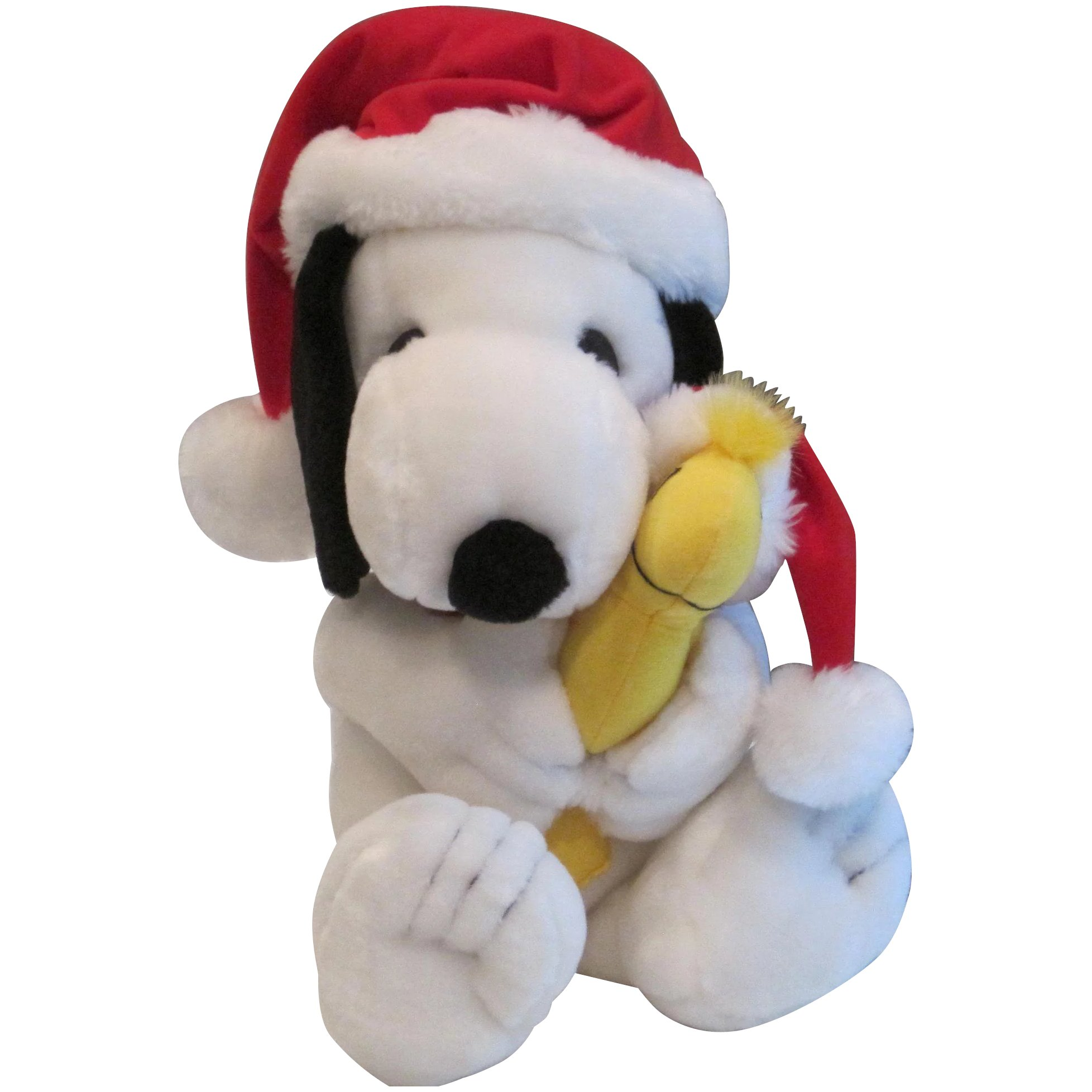 Vintage Snoopy and Woodstock in Christmas Stocking Hats. Click to expand a6c13dae5c0