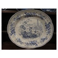 Staffordshire Transferware Huge Platter Enoch Wood & Sons