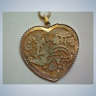 Valentine Heart Pendant with Two Designs