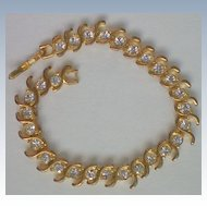 Diamante Crystal Tennis Bracelet