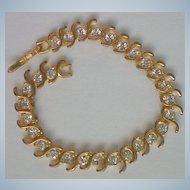 Diamante Crystal Tennis Bracelet