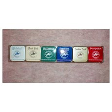 Tobacco Tins Set by Kentucky Club