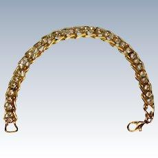 Tennis Bracelet with Zirconia Crystal Stones
