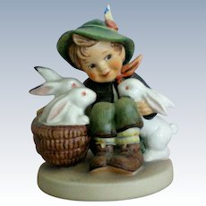 "Hummel Boy ""Playmates"" Figurine"