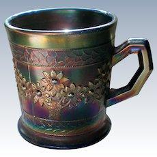 Orange Tree Carnival Glass Shaving Mug