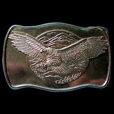 American Eagle Metal Belt Buckle