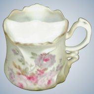 Mustache Cup Hand Painted Nippon