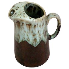 Large Hull Drip Ware Serving Pitcher