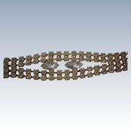 Glitzy Rhinestone Party Bracelet