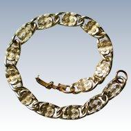 Sarah Coventry Gold tone Link Bracelet