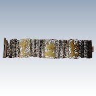 Egyptian Filigree Metal Chain Work Bracelet