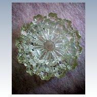 Fostoria Glass Spool Pattern Ashtrays