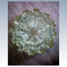 Fostoria Glass Spool Pattern Ashtrays