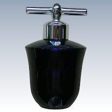 Tiny Cobalt Blue Liz Claiborne Perfume Bottle