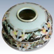 Morimura Hand Painted Nippon Hair Receiver Dresser Box
