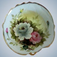 Pretty Deep Floral Porcelain Bowl