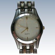 Gentleman's Quartz Wrist Watch