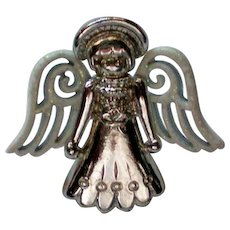 Angel Tie Tack or Hat Pin by CAMCO
