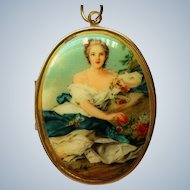 Portrait Locket Pendant