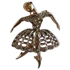 Boucher Design Ballerina Pin
