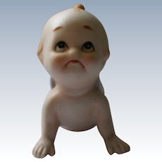 Kewpie Doll Crawling Baby by Lefton