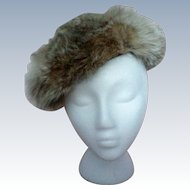 Variegated Fox Fur Hat