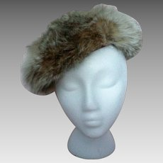 Variegated Fox Fur Hat