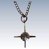 Crystal Rhinestone Cross Pendant
