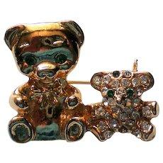 Tiny Teddy Bears Fashion Pin