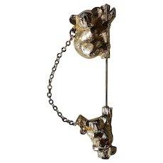 Koala Bear Stick Pin by Avon