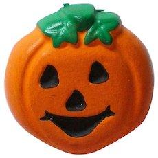 Halloween Pumpkin Jack-O-Lantern Pin