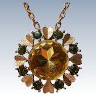 Avon Sweetheart Jewel Pin / Pendant Necklace
