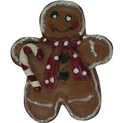 Ginger Bread Man Cookie Pin for Christmas Holidays