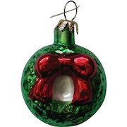 Christopher Radko Holiday Wreath Christmas Holiday Ornament